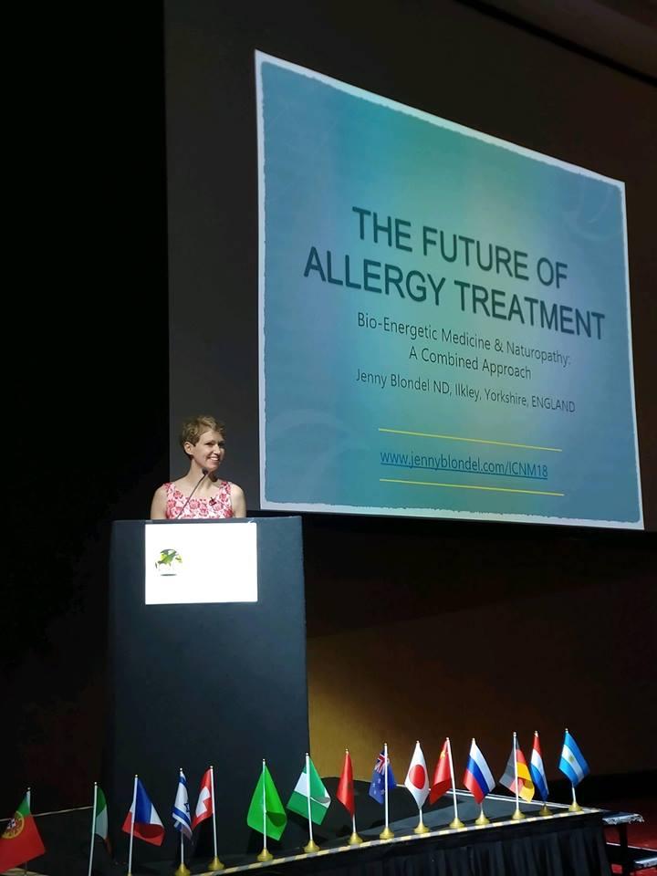 NEWS FROM INTERNATIONAL NATUROPATHIC MEDICINE CONGRESS 2018